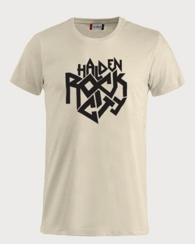 Halden Rock City T-skjorte