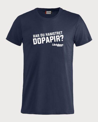 T-skjorte med «Har du hamstret dopapir?»