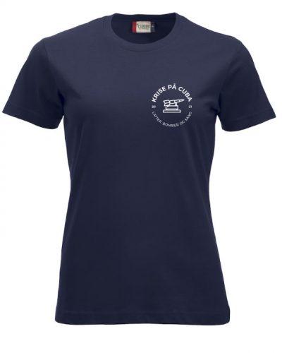 Krise på Cuba T-skjorte Dame